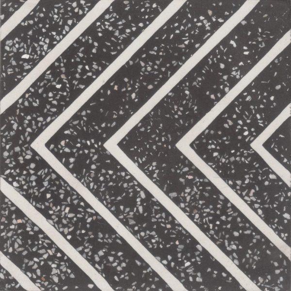Moroccan Encaustic Cement Terrazzo Pattern 07g