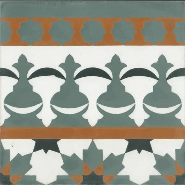 Moroccan Encaustic Cement Pattern 104b