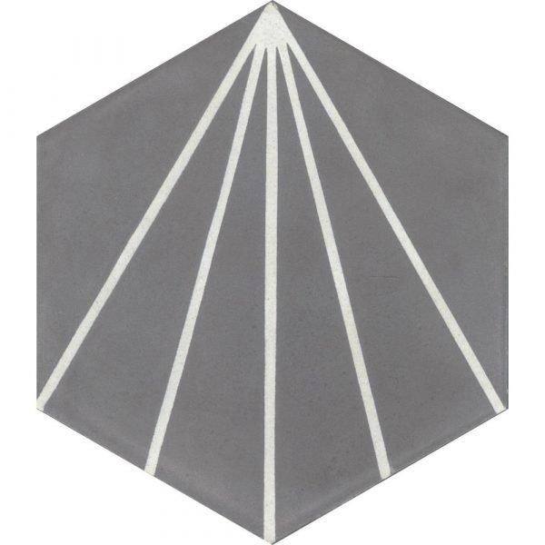 Moroccan Encaustic Cement Hexagonal Artic 18