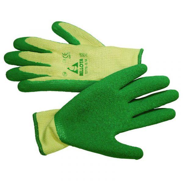 Bellota Nylon and Latex Work Gloves Large