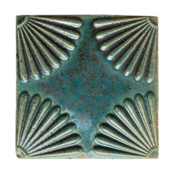 Zellige Daisy Turquoise 15cm x 15cm