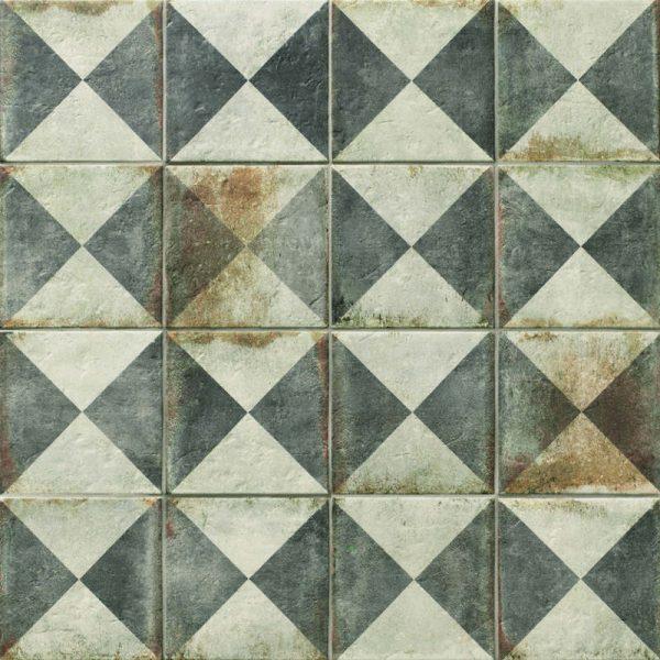 D'Anticatto Decor Triangoli 22.5cm x 22.5cm
