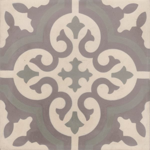 Moroccan Encaustic Cement Pattern gr06a