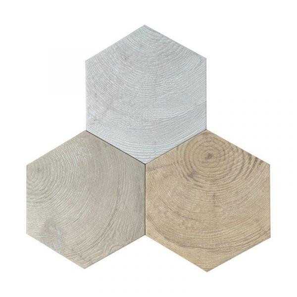Hexawood Mix 17.5cm x 20cm