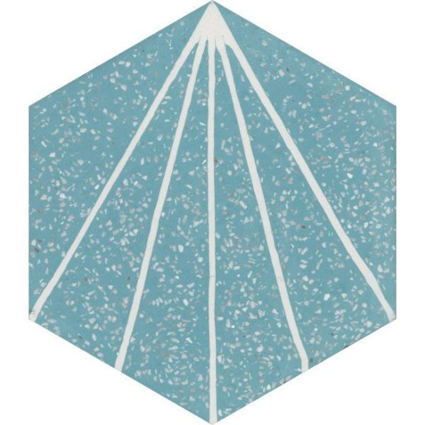 Moroccan Encaustic Cement Hexagonal Terrazzo 19