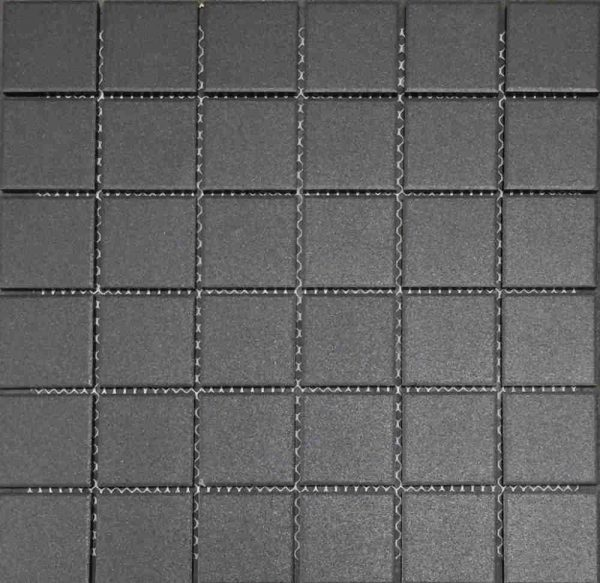 Mosaic Tile 05 Black Anti-Slip