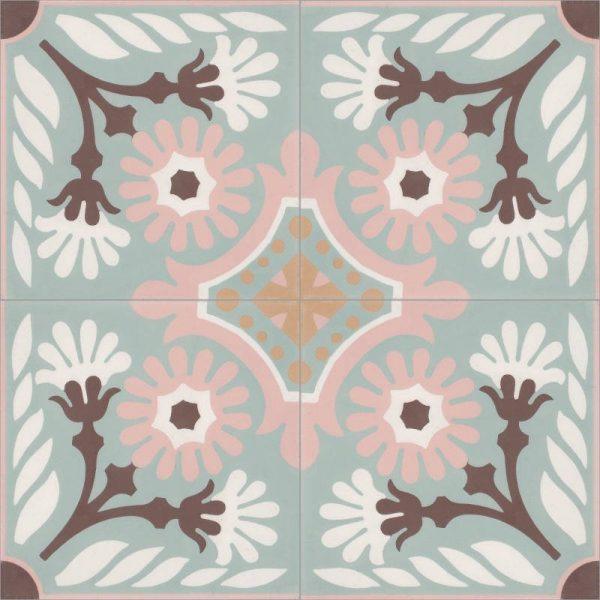 Moroccan Encaustic Cement Pattern 01l1