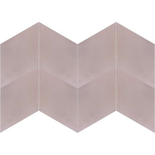 Moroccan Encaustic Cement Rhombus Pink