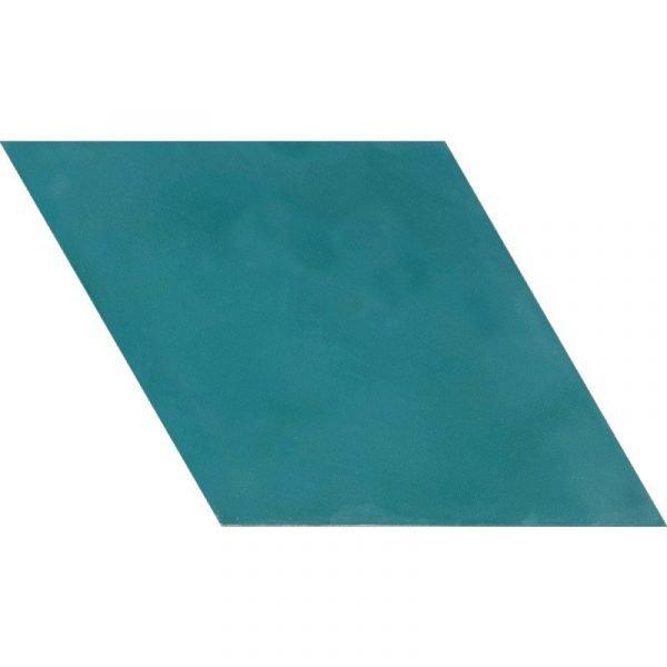 Moroccan Encaustic Cement Rhombus Turquoise