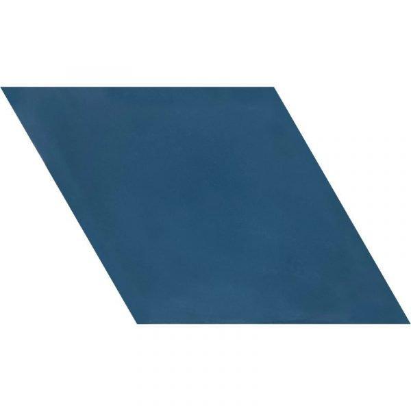 Moroccan Encaustic Cement Rhombus Federal Blue