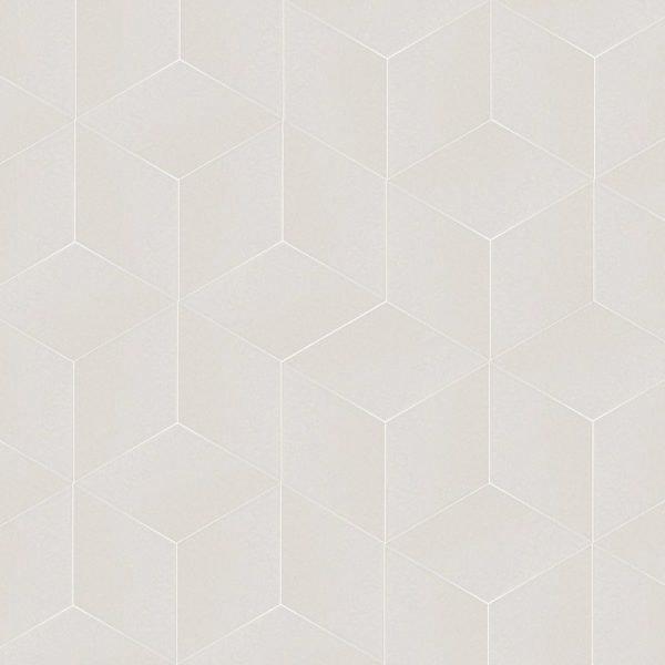 Rhombus White Smooth 24cm x 14cm