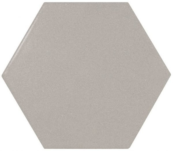 Scale Hexagonal Grey 11.6cm x 10.1cm