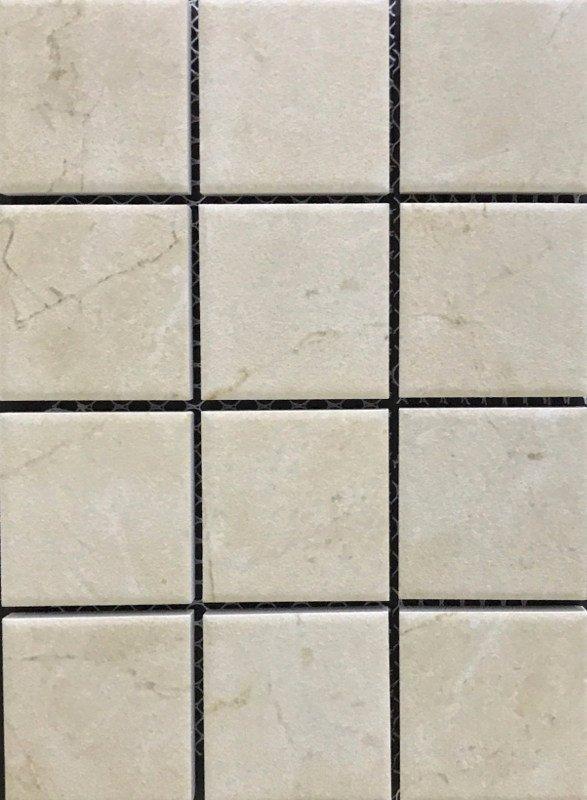 Mosaic Tile Stone Beige R11 Anti-Slip