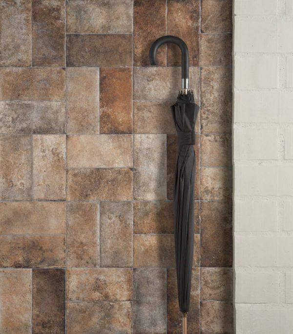 Williamsburg-M Brown Corner 10cm x 20cm