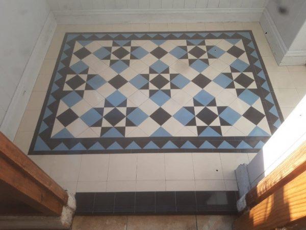 Winckelmans Victorian Blue 10cm x 10cm