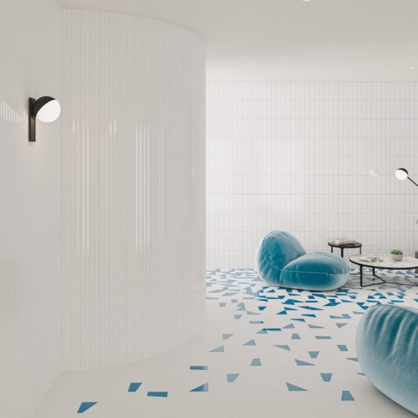 Liso XL Ice White Gloss 7.5cm x 30cm