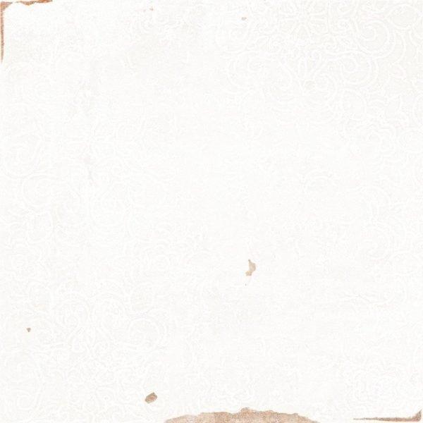 Fabricated Zellige White Decor 12.5cm x 12.5cm