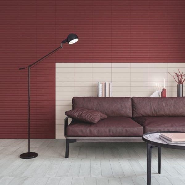 Stripes Transition Garnet 7.5cm x 30cm