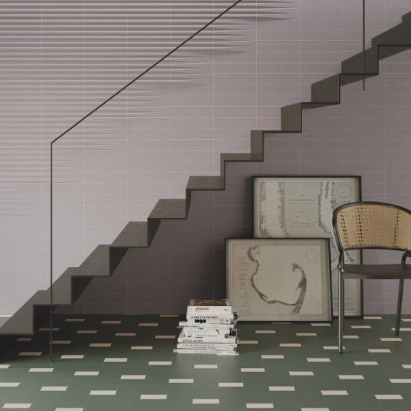 Stripes Transition Grey 7.5cm x 30cm