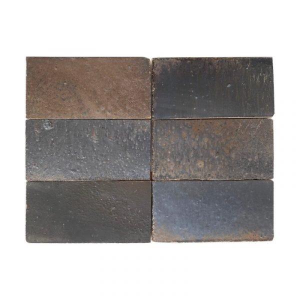 Zellige Iron Copper 15cm x 7.5cm