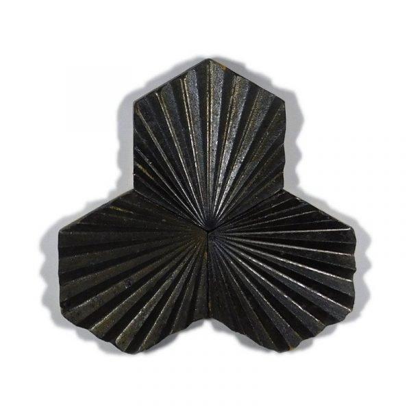 Zellige Hexagonal Scallop Metallic 11cm x 12.7cm