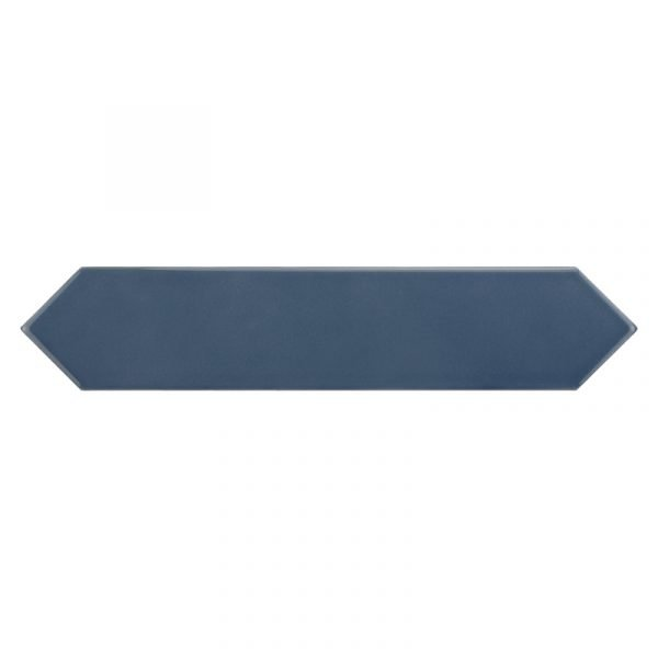 Arrow Blue Velvet 5cm x 25cm