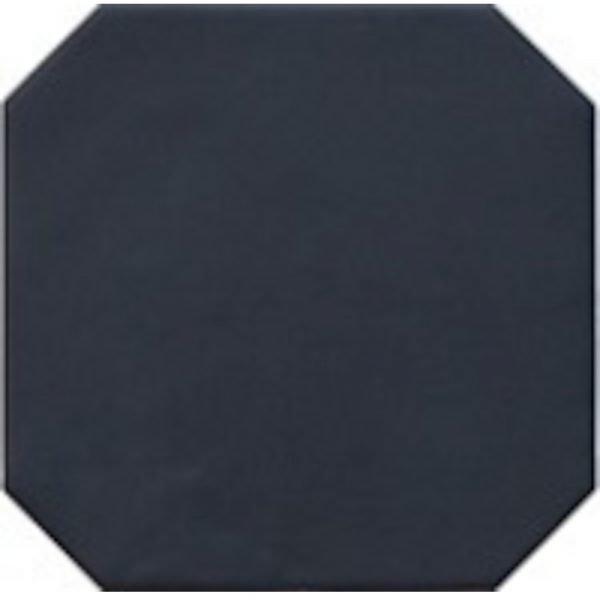 Octagon Negro Mate 20cm x 20cm