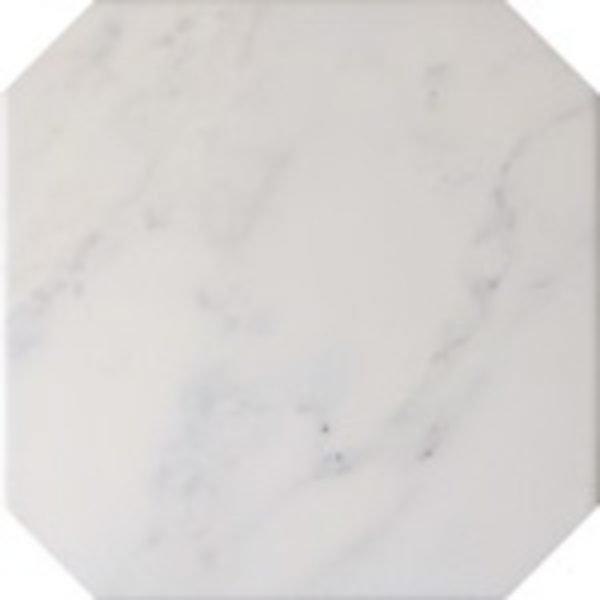 Octagon Marmol Blanco 20cm x 20cm