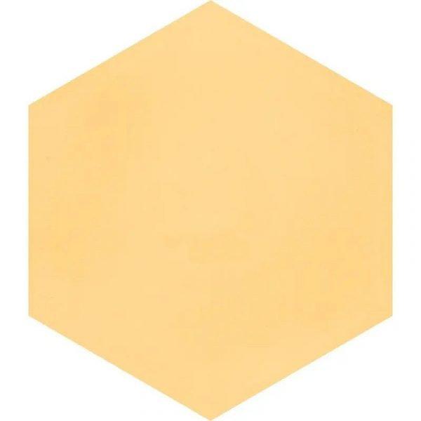 Moroccan Encaustic Cement Hexagonal Lemon