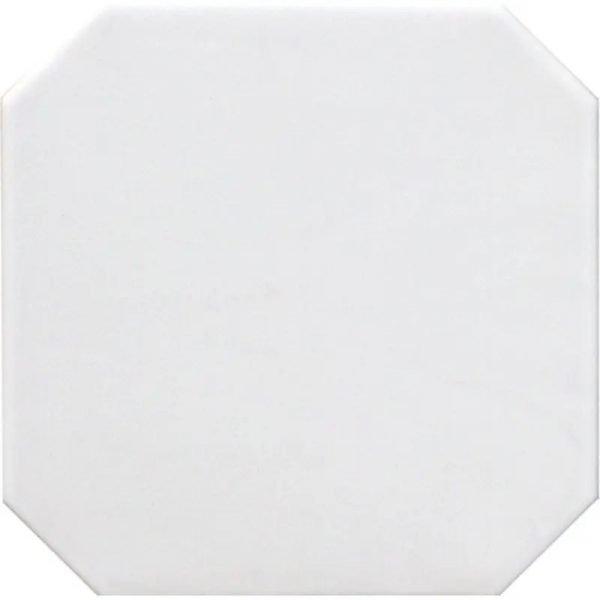 Octagon Blanco Mate 20cm x 20cm